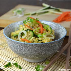 receta arroz thai con verduras