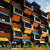 Housing Complex Honeycomb Modular architecture | Apartments
