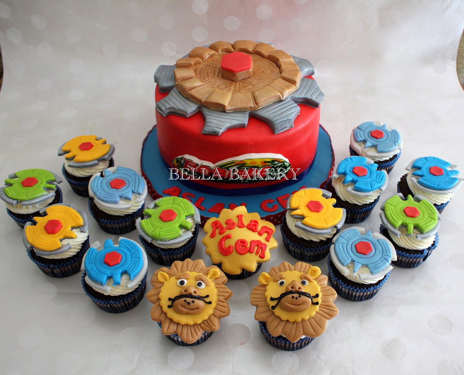 BEYBLADE CAKE & CUPCAKES