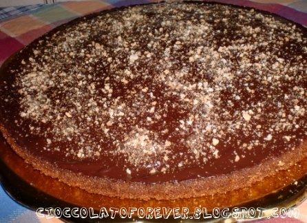 Cioccolato for ever torta agli amaretti - Bagno di cioccolato ...
