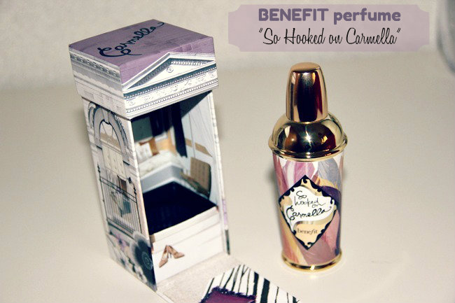 Benefit So hooked on Carmella Eau de Toilette. Benefit perfume. Benefit perfume review.