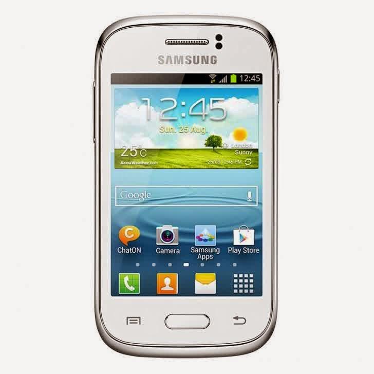 Info Samsung Galaxy Young S6310 - 4 GB Terbaru Full Spesifikasi