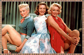 Betty Glabe,Laureen Bacall, Marylin Monroy
