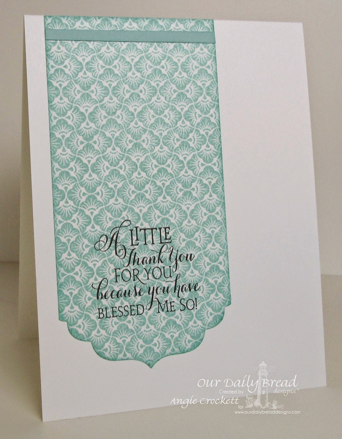 ODBD Chalkboard Fan Background, Sentiments Collection, Card Designer Angie Crockett