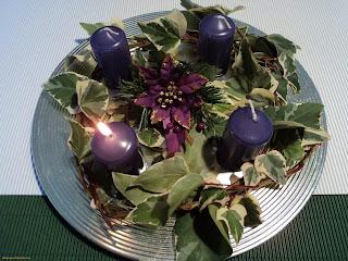 Coronas de Adviento, Navidad