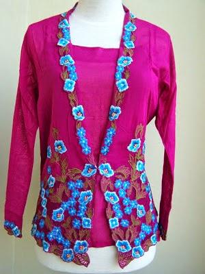 Foto Model Baju Kebaya Nyonya Modern