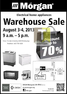 Morgan Warehouse Sales 2013