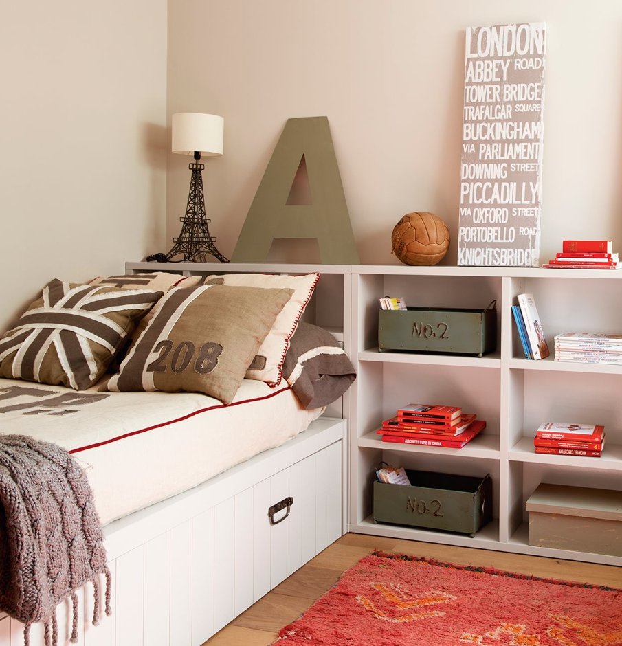 5 ideas para dormitorios infantiles compartidos deco for Deco dormitorios infantiles