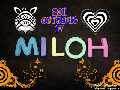 Miloh October 17 2011