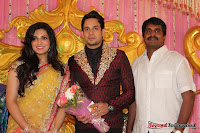 Celebraties at Actor Bharat n Jessy Wedding Reception Photos+%252878%2529 Actor Bharath n Jessy Wedding Photos