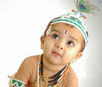 Cute Baby Pictures In Little Krishna Images