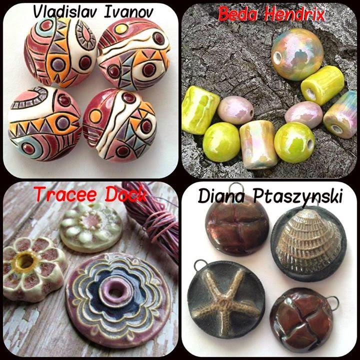 Beads by Vladislav Ivanov, Beada Hendrix, Diana Ptaszynski and Tracee Dock