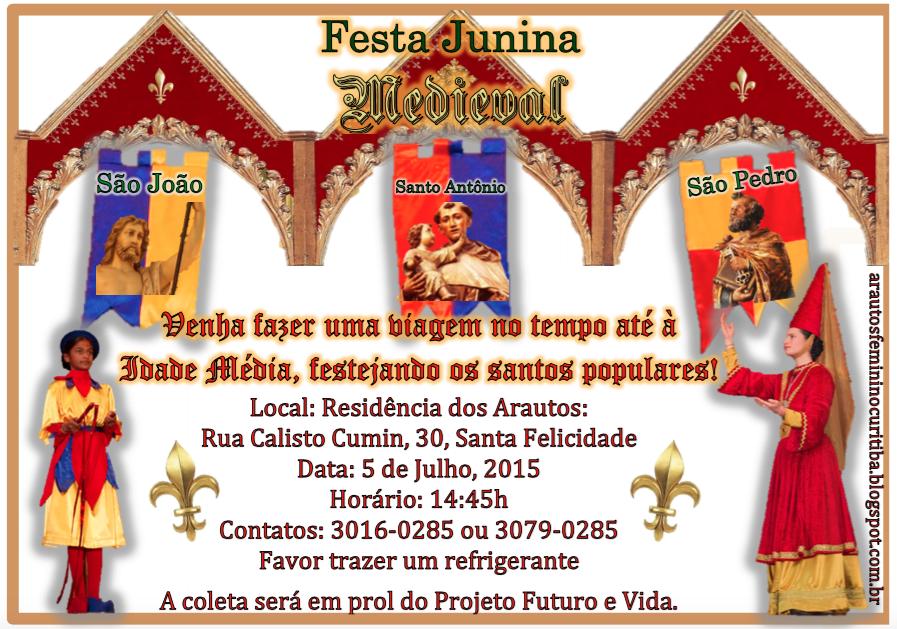Festa Junina - Convite