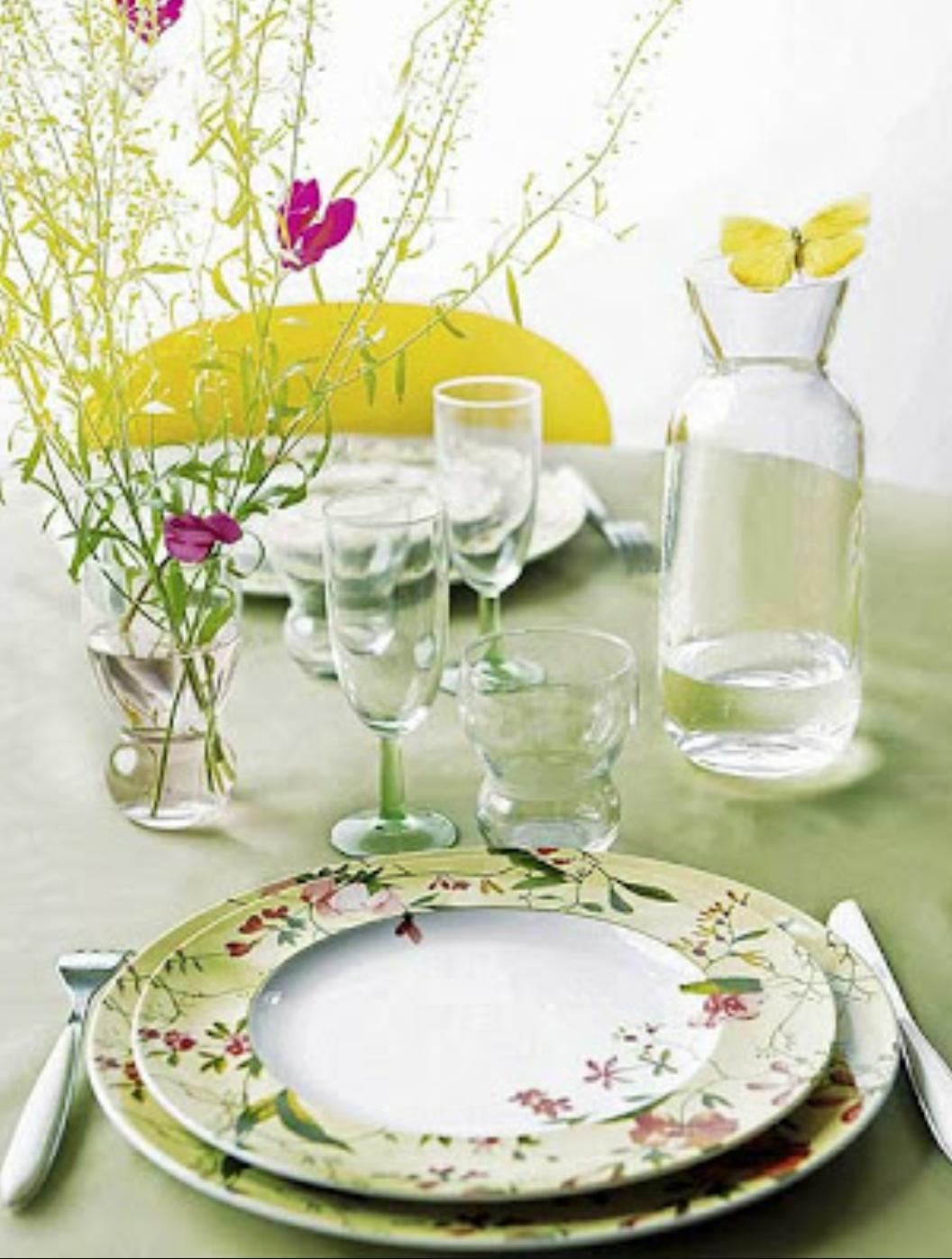 Holadenuevo vajillas para la primavera y verano for Vajillas porcelana clasicas