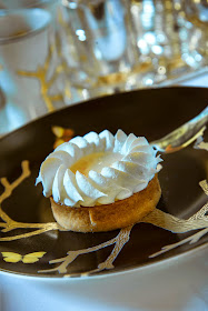 Tarte au citron - Tea time - Hôtel Meurice