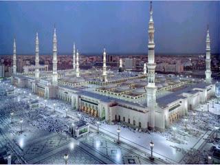 Masjid Nabawi di Madinah, Arab Saudi,data 7 masjid terbesar dan termegah