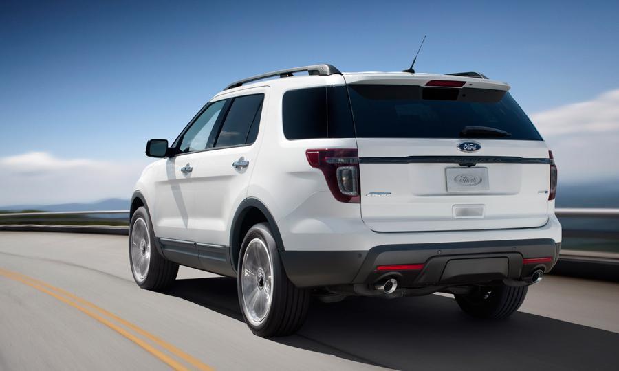 2013 Ford Explorer Sport Interior
