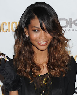 Chanel Iman Ombre Hair