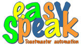 Easy Speak- Toastmaster Automation
