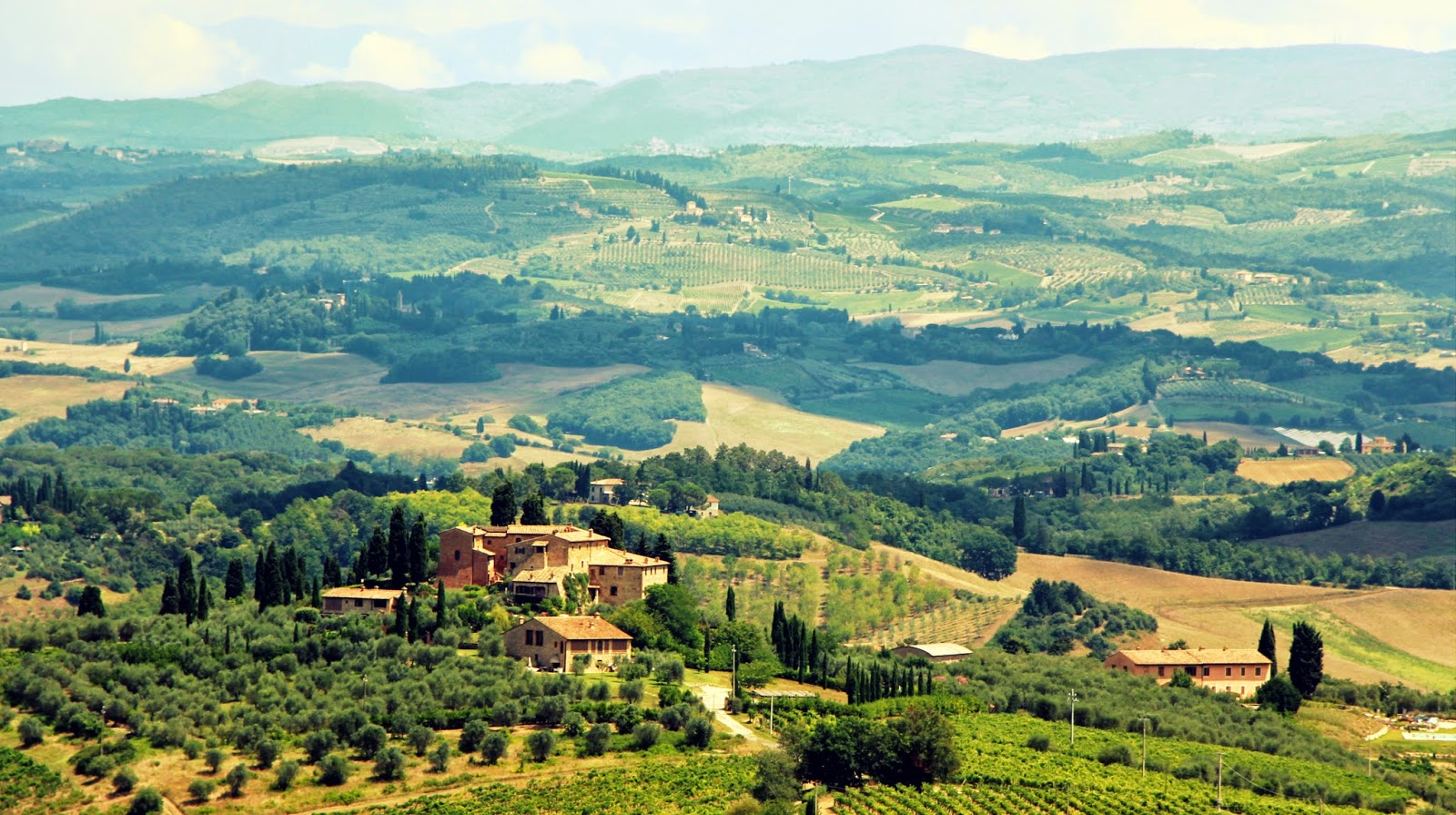 The Tuscan countryside, Italy