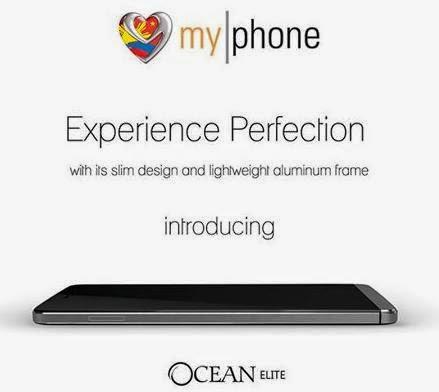 MyPhone Ocean Elite, 5-inch Quad Core with Aluminium Frame for Php8,999