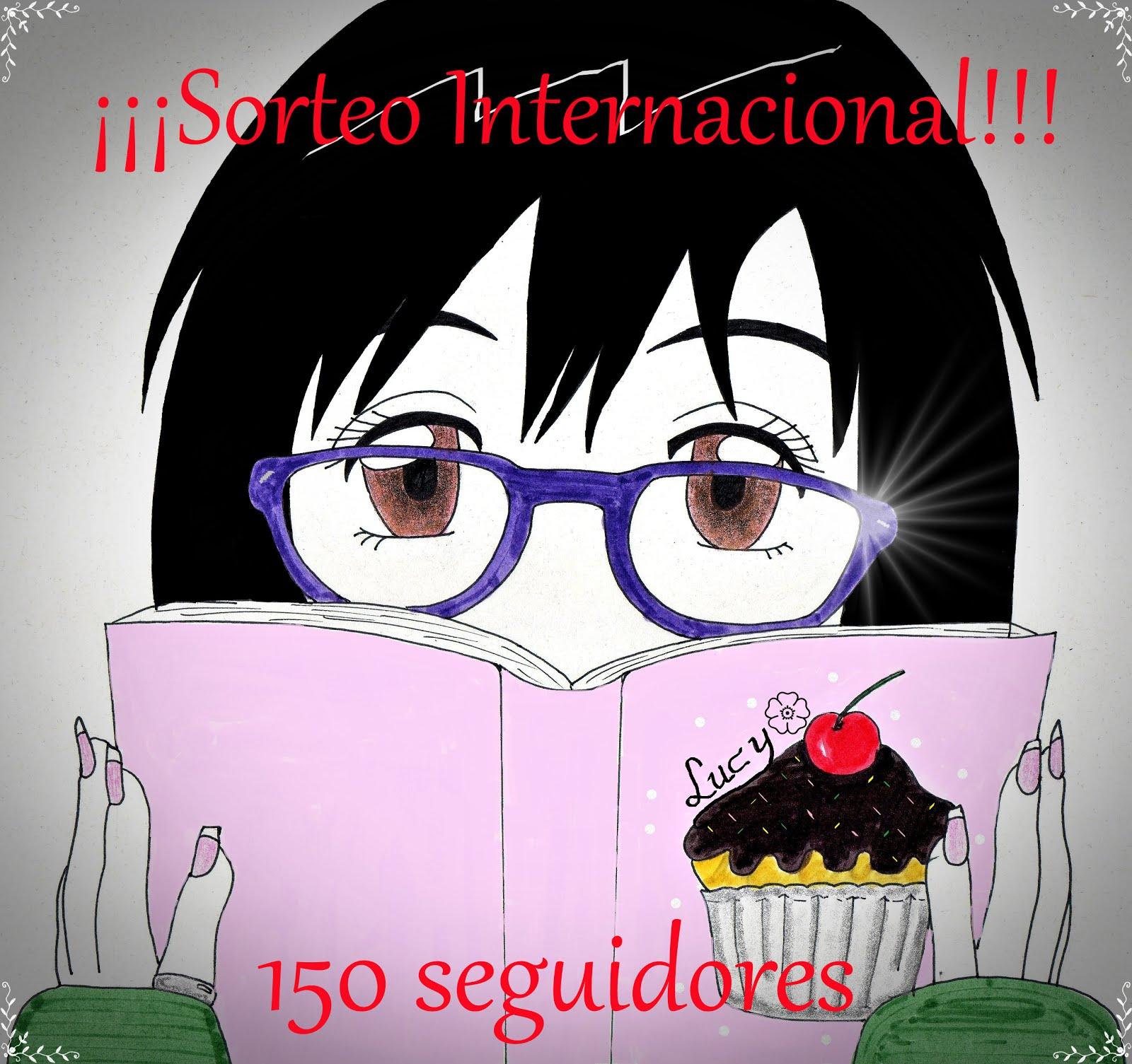 SORTEO INTERNACIONAL - 150 SEGUIDORES ¡¡PARTICIPA!!