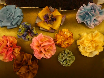 Silk Ribbon rossettes