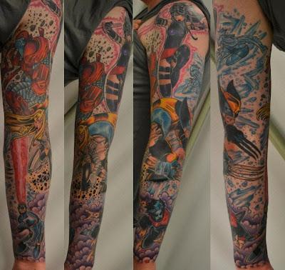 Tatuaje de X-Men