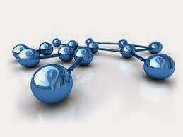 Shiny Metallic Blue Links