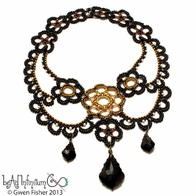Steampunk Lace Necklace