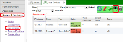 add vpn connected nas