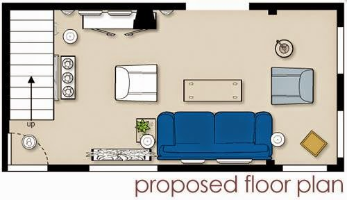 Floor planning a small living room ayanahouse for Small living room floor plan