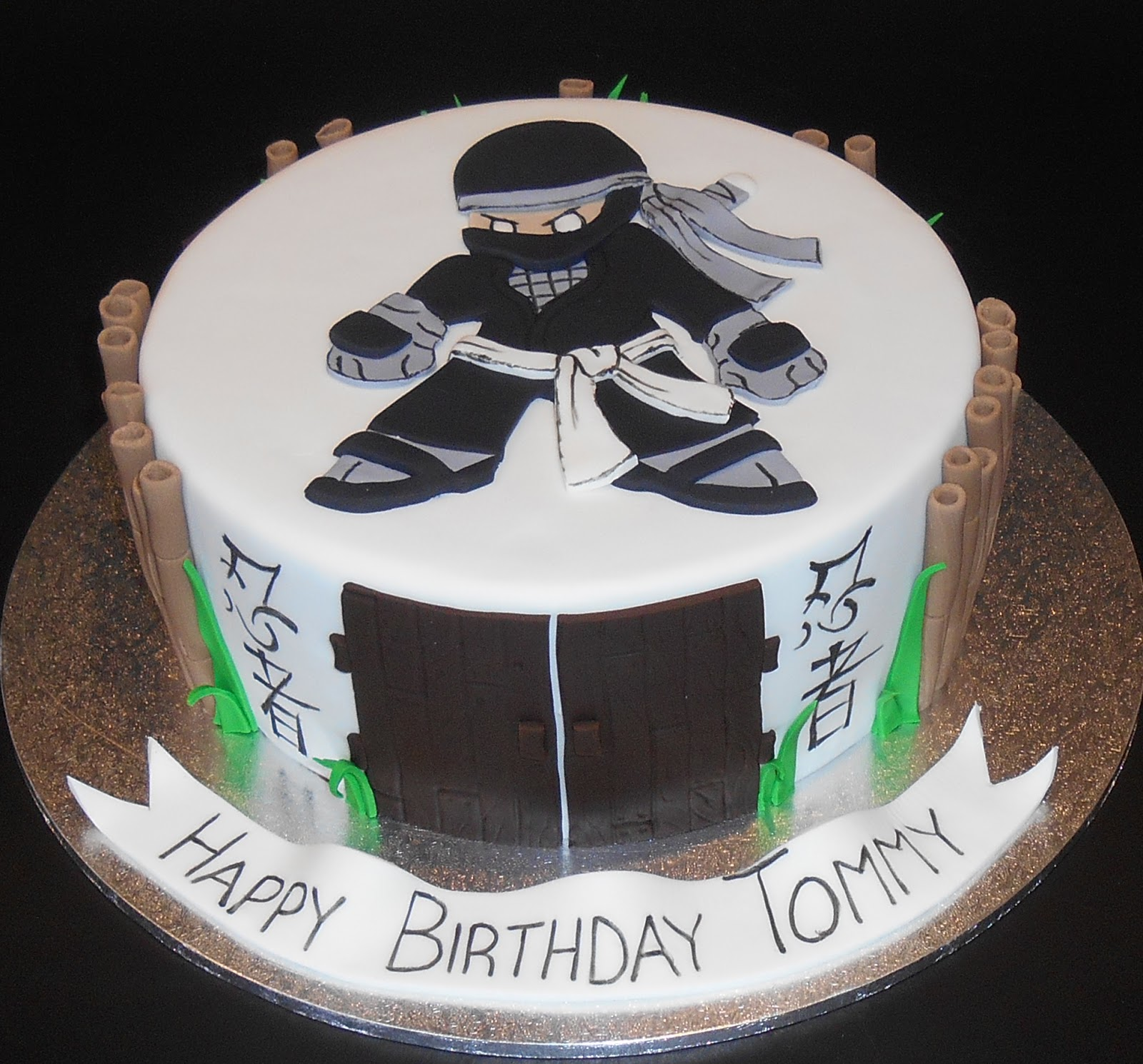 Nadas Cakes Ninja Birthday Cake By Nadas Cakes Canberra
