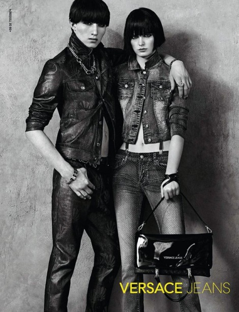 Jester White and Zlata Mangafic for Versace Jeans