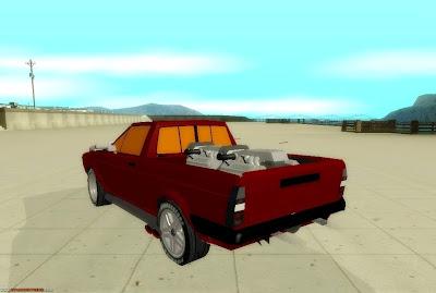 Baixar carro Volkswagen Saveiro de Arrancada Para GTA San Andreas