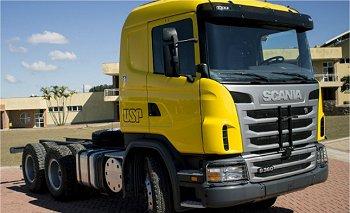 USP apresenta caminhão sem motorista feito no Brasil