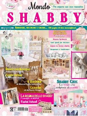 Shabby chic con amore casa shabby chic provenzale for Riviste arredamento country