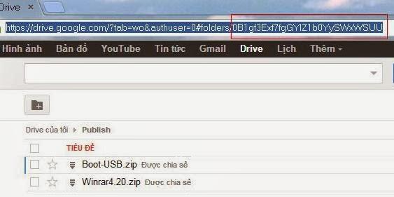 Hướng dẫn lấy link trực tiếp directlink Google Drive