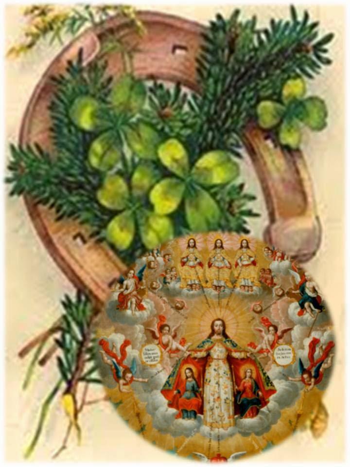 Tesoro de oraciones antigua oraci n a toda la corte - Cosas que atraen buena suerte ...