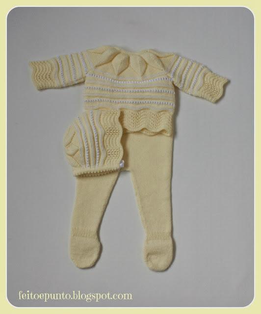 Conjunto de primera puesta para bebé