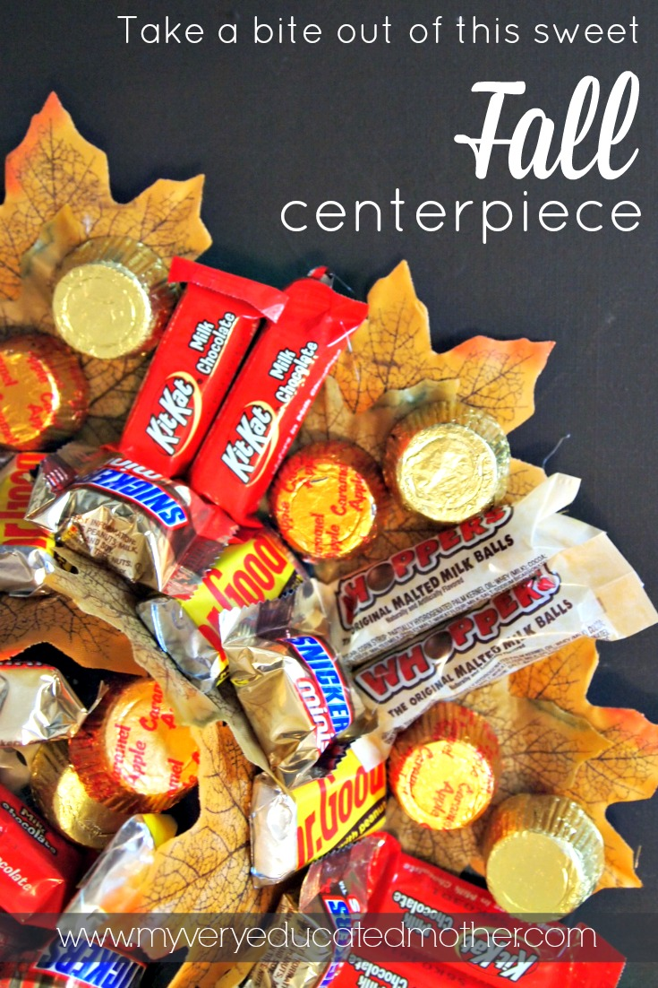 Take a bite out of this sweet fall centerpiece made with AdTech! #adtechhoa #spon