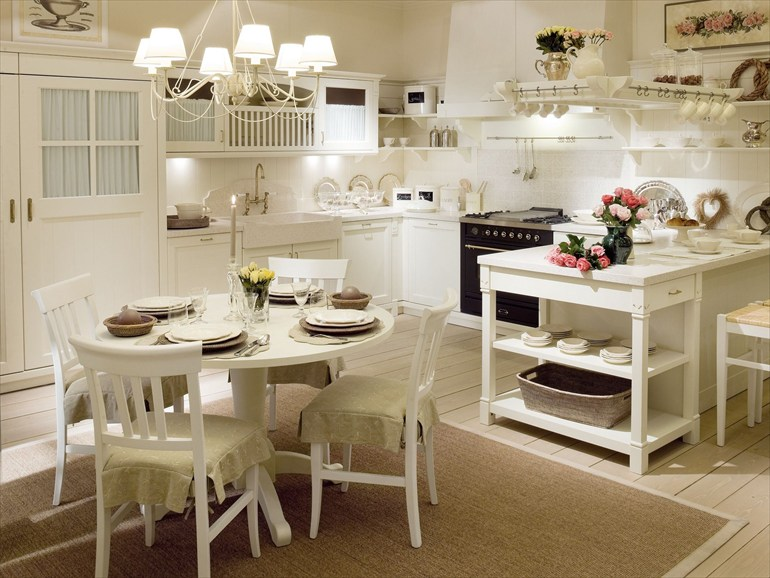 ... in shabby chic: lo stile provenzale, il nordico, il country chic
