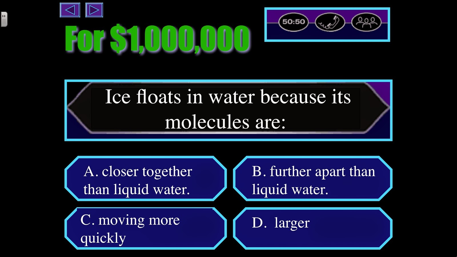 Math is fundamental my 10 favorite review activities this is a science game i made when who wants to be a millionaire was the hot game show i included a lot of real sound effects and music from the show to alramifo Images