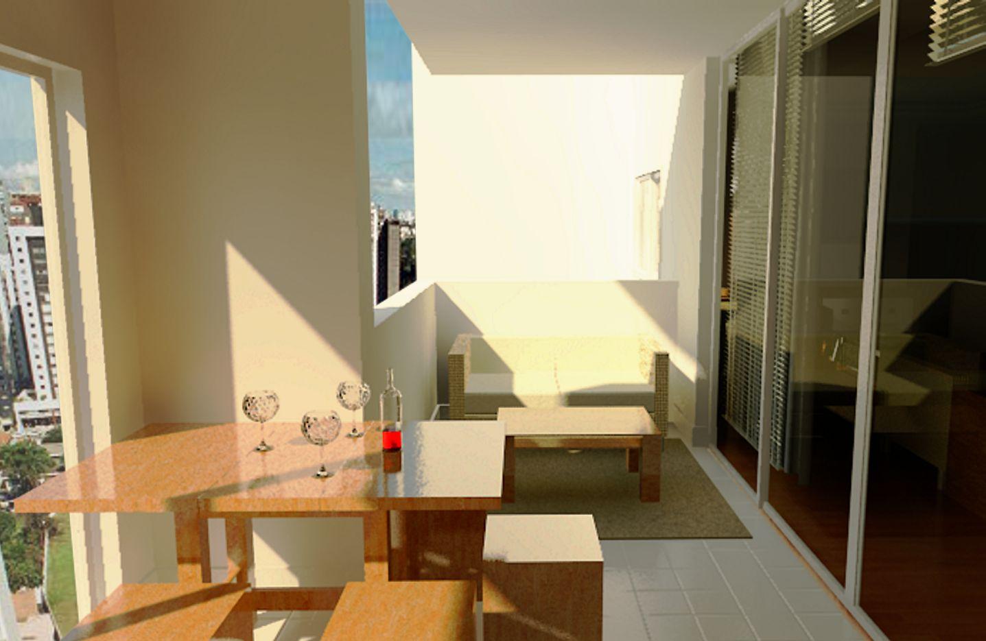 Projeto de Interiores para um apartamento no edifício Botânica em  #A1692A 1437 935