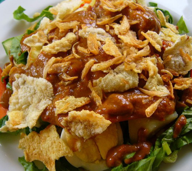gado-gado, makanan terlezat, asli indonesia, nusantara, khas otorentik, ashim blog