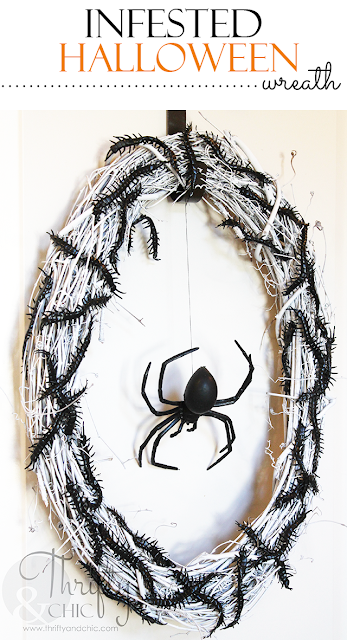 http://www.thriftyandchic.com/2015/10/diy-infested-halloween-wreath.html