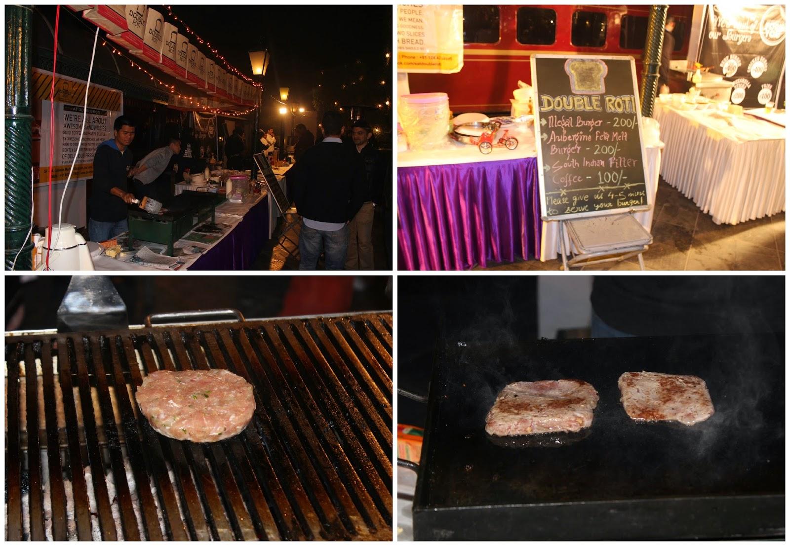 EatTreat Burger Faceoff, double roti, burger
