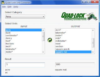 Quad-Lock Unit Converter: Software Gratis Konverter Satuan