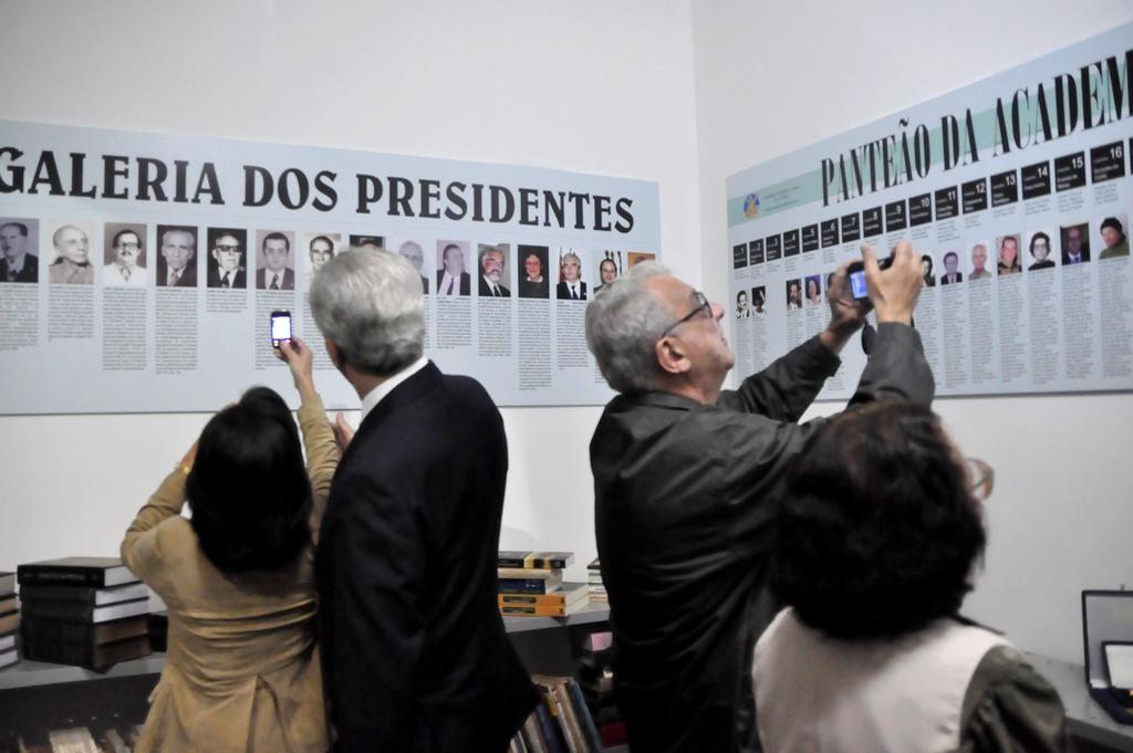 A galeria de presidentes e o panteão da ATL fizeram sucesso