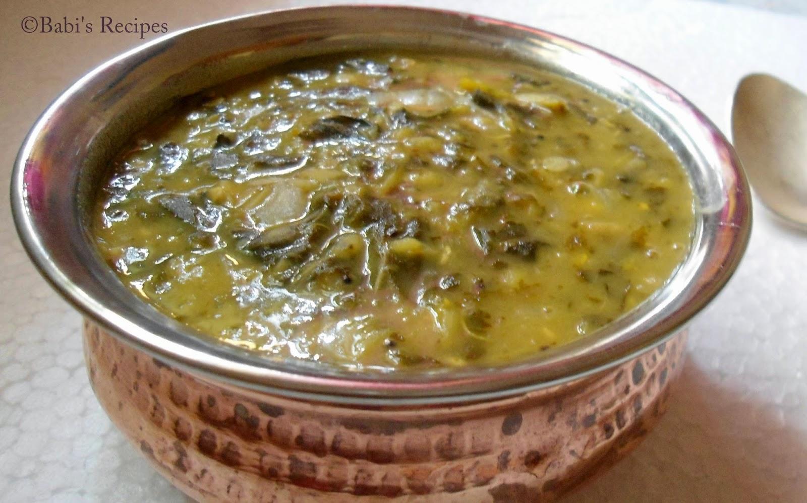 gongura lentils gravy